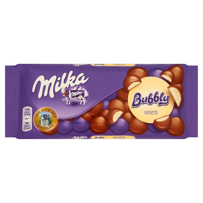Milka Bubbly white 95g