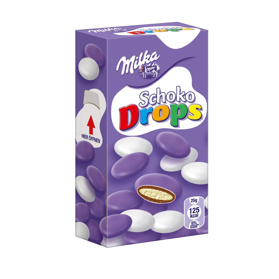 Milka Milkinis Choco Drops 42g