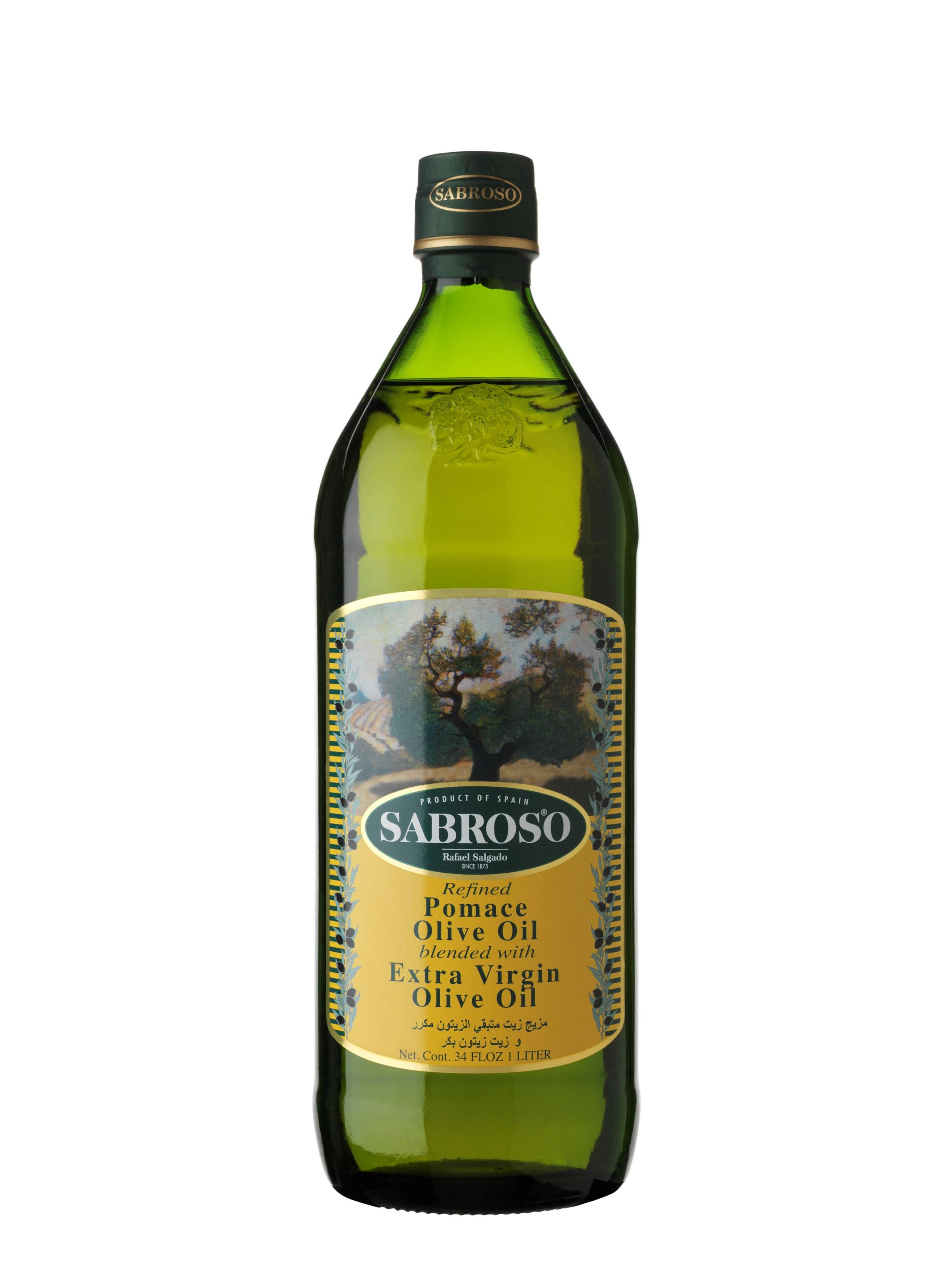 Sabroso Pomace Olive Oil 1lt, 05lt