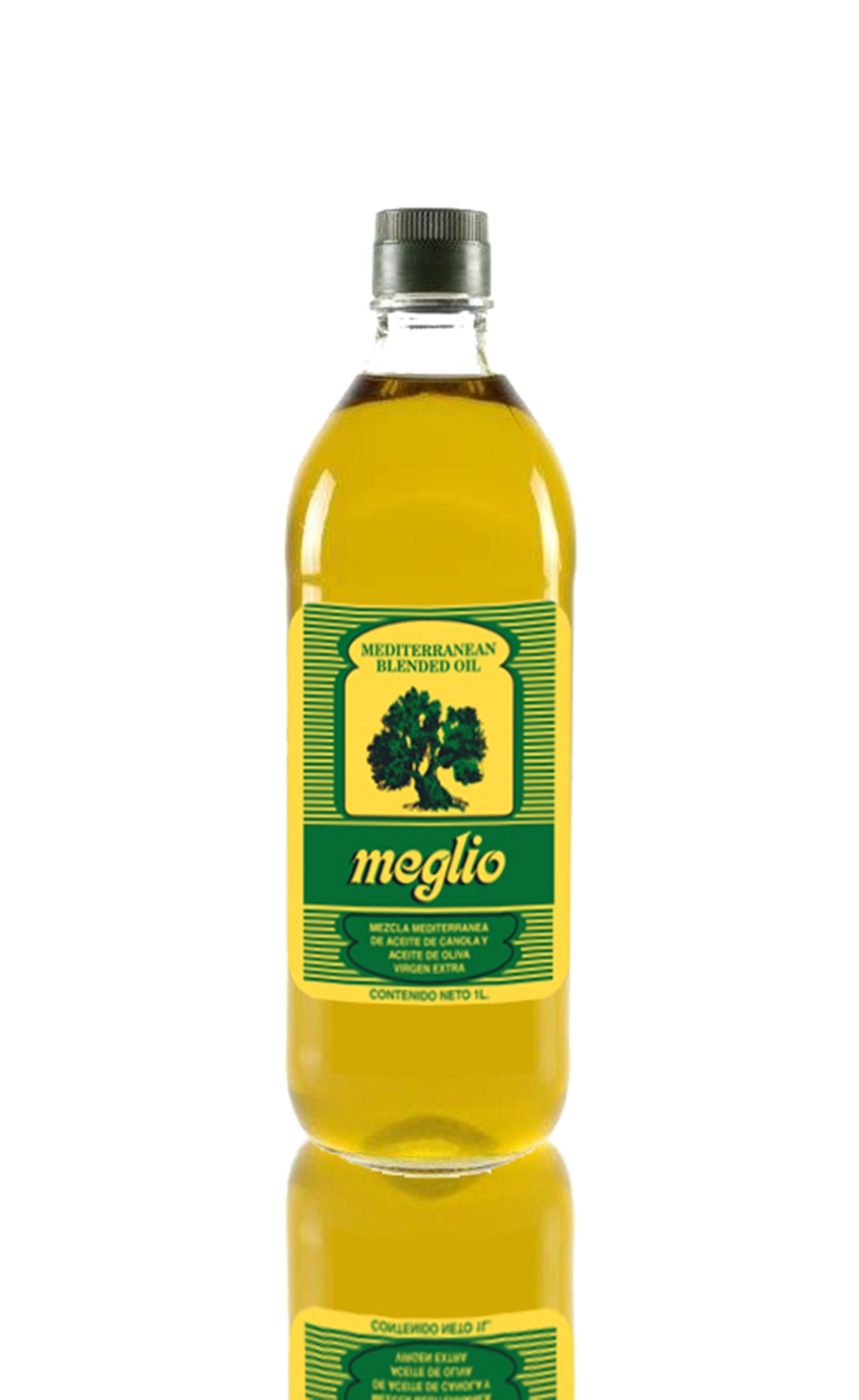 Meglio Blended Oil (sunflower & olive oil) 1lt
