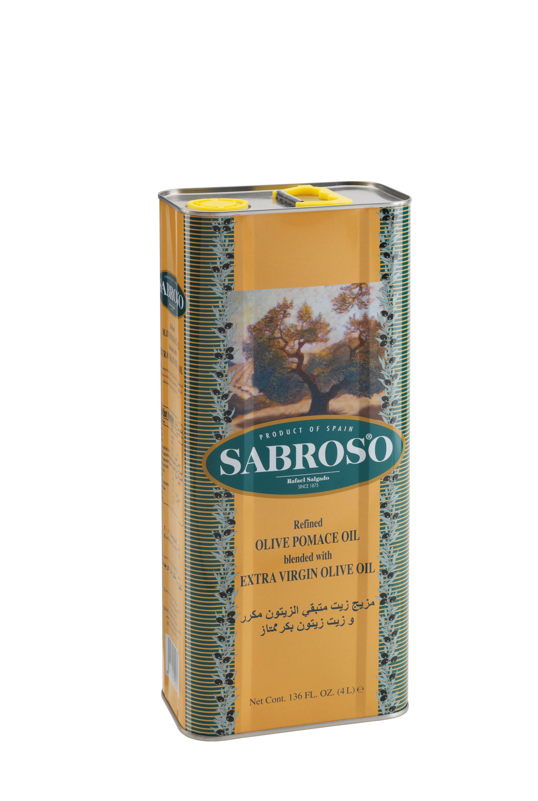 Sabroso Pomace Olive Oil 4lt